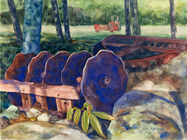 Cultivator at Rest by Lori Rapuano