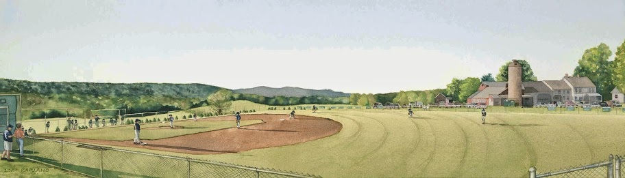 East Granby Farms Little League Field by Lori Rapuano